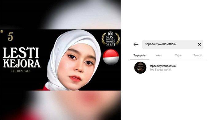 Kejanggalan Lesti Kejora Masuk Wanita Tercantik: Akun Instagram Hilang hingga TC Candler Belum Rilis