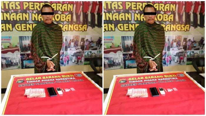 Pria Paruh Baya Lombok Barat Ditangkap karena Miliki Sabu 1,12 Gram