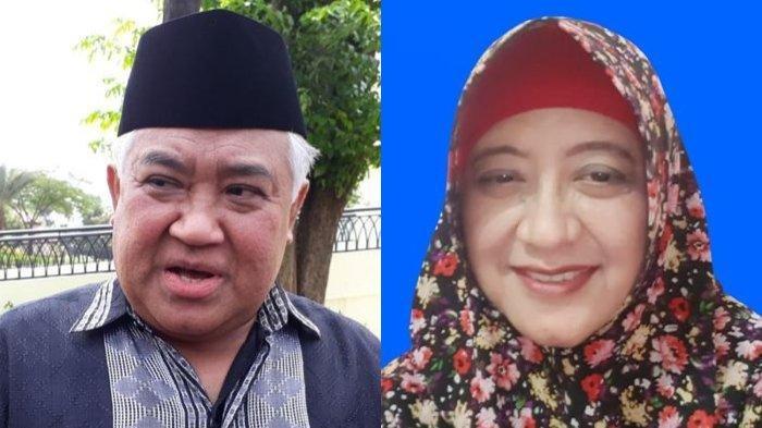 Din Syamsuddin Dikabarkan Menikahi Cucu Pendiri Gontor, Inilah Profil Rashda Diana