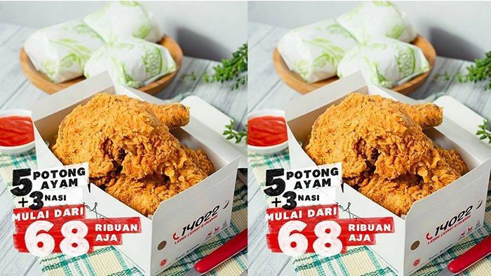 Promo KFC: 5 Ayam dan 3 Nasi Cukup Bayar Rp 68 Ribu, Ada Juga Promo Gratis 1 Potong Ayam