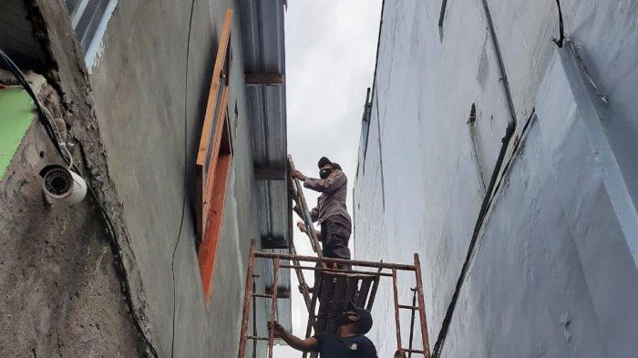 Pekerja Kota Bima Tewas Tersengat Listrik di Atas Bangunan