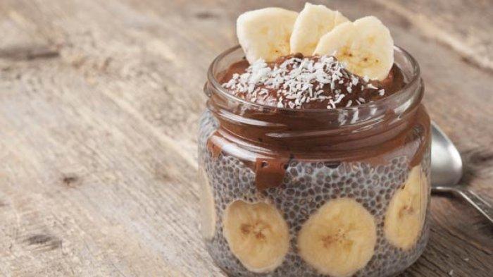 Resep Puding Chia Seed Pisang Cokelat, Cocok Jadi Menu Sarapan saat Diet