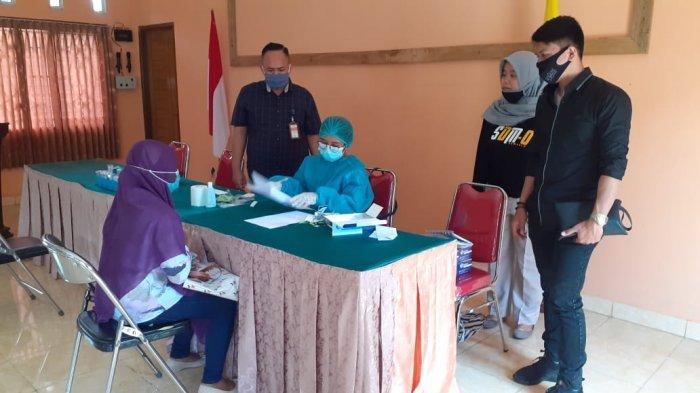 119 Orang Pengawas Pemilu di Mataram Reaktif Covid-19 Saat Rapid Test