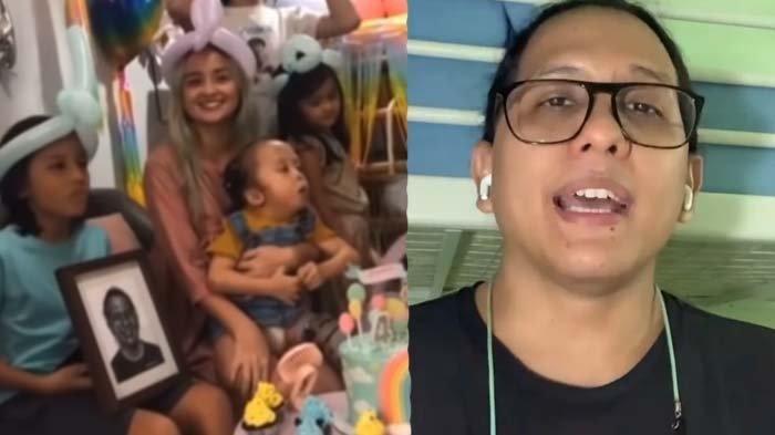 Anak Joanna Alexandra Ulang Tahun Tanpa Ayah, Pegang Erat Foto Raditya Oloan saat Tiup Lilin