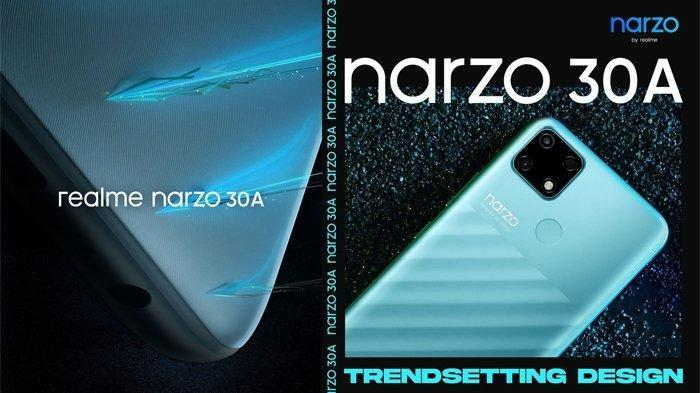 Realme Narzo 30A Meluncur di Indonesia 3 Maret 2021, Ini Bocoran Spesifikasi dan Harganya