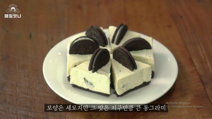 Menu Camilan Buka Puasa: Oreo Cheese Cake ala Korea, Cara Buatnya Mudah dan Tanpa Oven