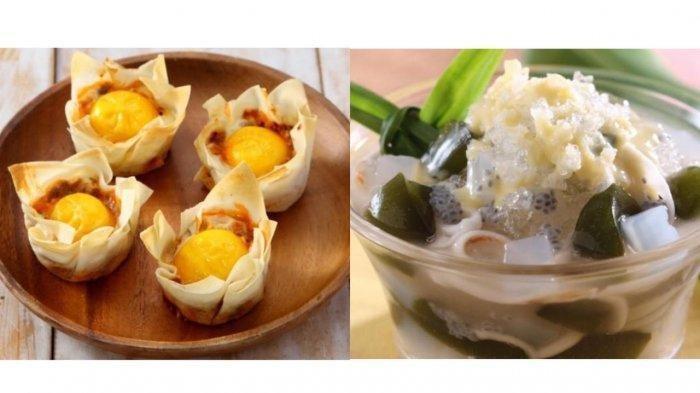 Resep Takjil Mangkuk Telur Daging dan Es Kelapa Selasih, Cocok untuk Berbuka Puasa Ramadhan