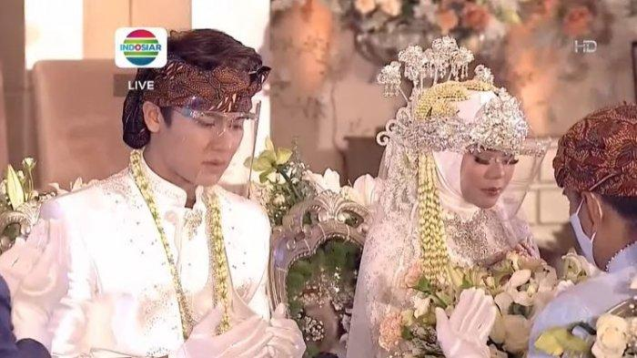 FOTO Rizky Billar dan Lesti Kejora Sah Menikah, Beri Mas Kawin 72.300 USD dan Tukul Jadi Saksi