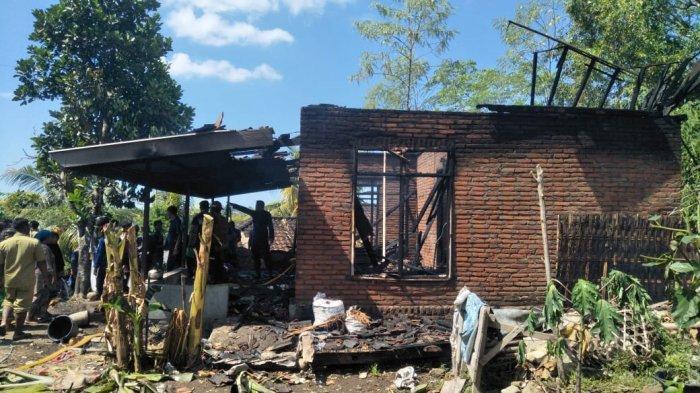Rumah Warga Hangus Terbakar saat Ditinggal Pemilik ke Sawah
