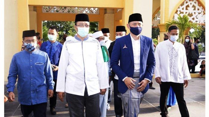 Safari Ketum Demokrat ke Lombok, Gubernur NTB dan AHY Saling Sanjung