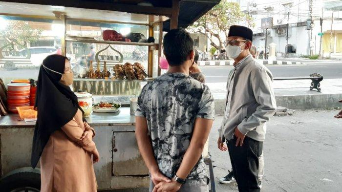 Wali Kota Mataram Sambangi PKL dan Ojol, Beri Kelonggaran Buka Lebih Pagi saat PPKM Darurat