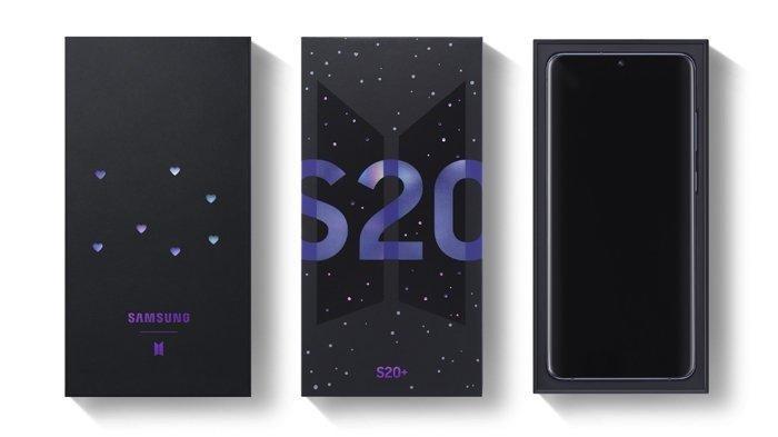 Daftar Harga HP Samsung Terbaru Bulan Juni 2020: Galaxy S20+ BTS Edition & Galaxy Buds+ BTS Edition