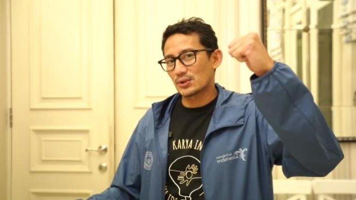 Sandiaga Salahudin Uno, Menteri Pariwisata dan Ekonomi Kreatif