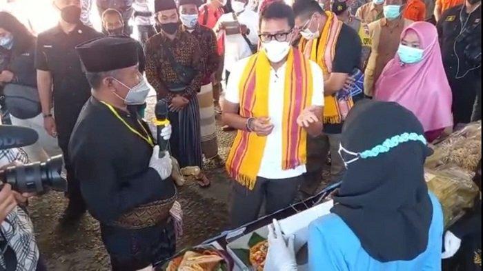 Sandiaga Uno Kagum pada Desa Wisata Kembang Kuning, Zero Covid-19 dan Punya Warung Sedekah
