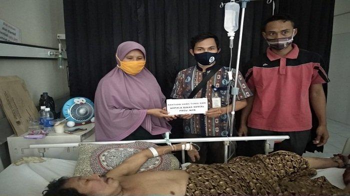 Dua Tahun Lumpuh, Pasien di Lombok Timur Curhat Lebih Baik Mati