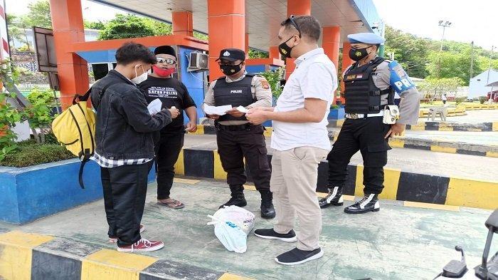 Larangan Mudik 2021 Lombok, Lima Calon Penumpang Kapal Dicegat dan Putar Balik saat Tiba di Lembar