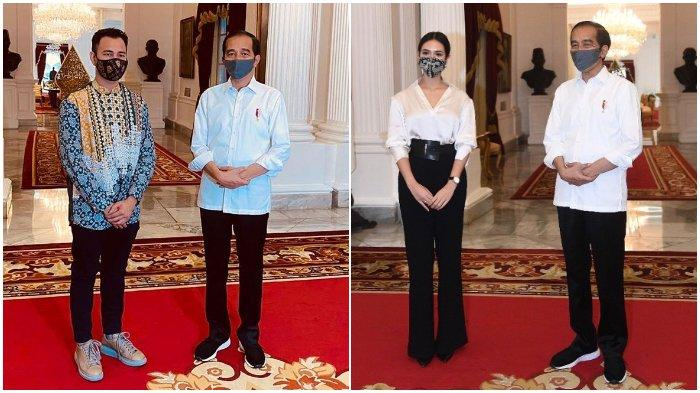 Raffi Ahmad hingga Raisa, Lihat Gaya Artis saat Diundang Jokowi Bahas Sosialisasi Protokol Kesehatan