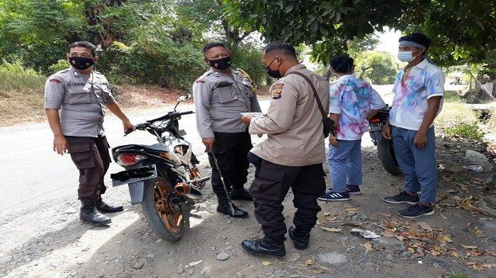 Pelajar Dicegat Polisi saat Konvoi Kelulusan di Lombok Utara
