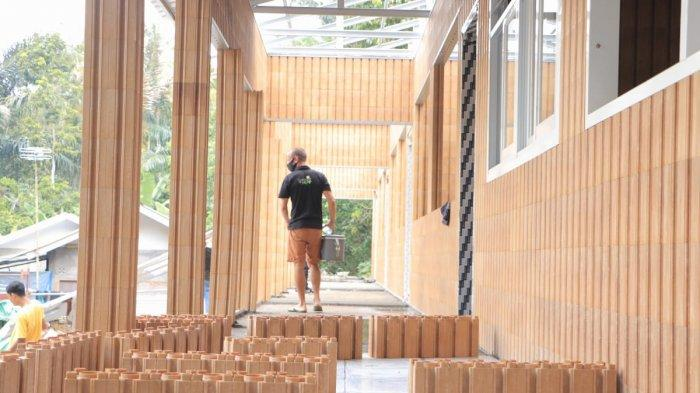 NTB Punya Gedung Sekolah Berbahan Bata Plastik Pertama di Dunia