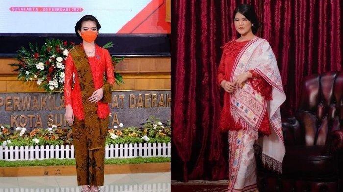 Penampilan Selvi Ananda dan Kahiyang Ayu saat Dampingi Suami Pelantikan, Kompak Kenakan Kebaya Merah