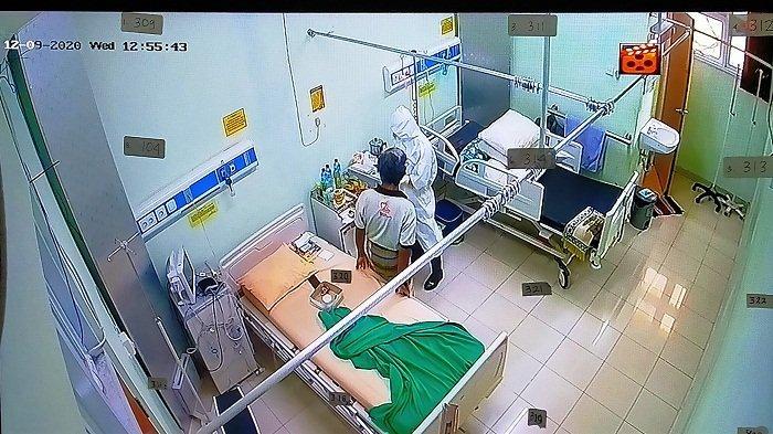 7 Pasien Covid-19 Nyoblos di Ruang Isolasi RSUD Mataram, 1 Orang Pilih Golput