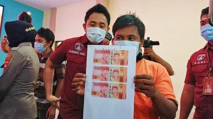 Polresta Mataram Bongkar Sindikat Pembuat Uang Palsu, Rp 500 Juta Upal Disimpan dalam Karung
