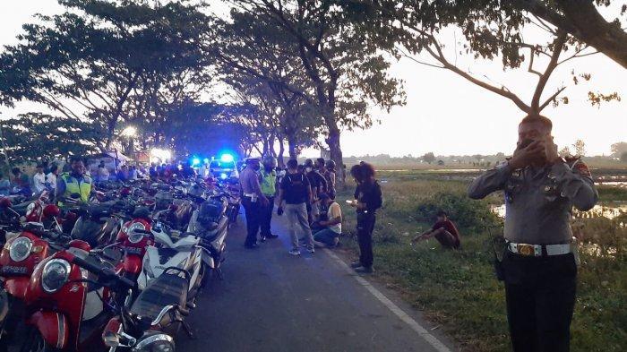 107 Unit Motor Balap Liar Diangkut Satlantas Polresta Mataram