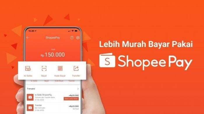 Cara Top Up ShopeePay di Shopee Melalui Indomaret, Alfamart dan Bank Transfer