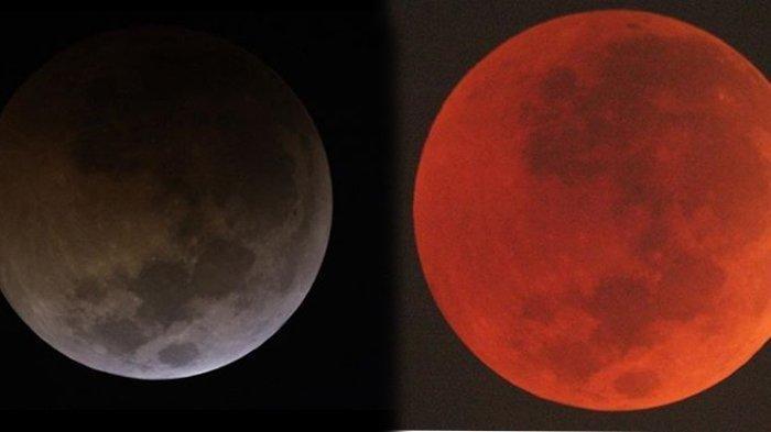 Simak daftar wilayah di Indonesia yang dapat menyaksikan Gerhana Bulan Total 26 Mei 2021 atau Super Blood Moon.