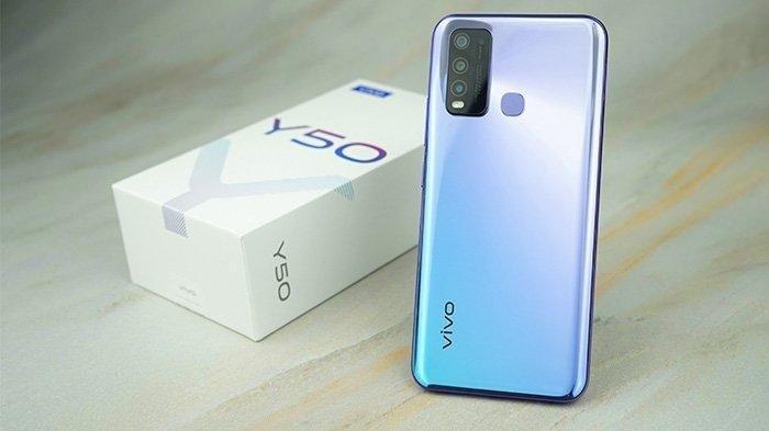 Daftar Harga HP Vivo Bulan Juni 2020: Vivo Y50 Dibekali Baterai 5000mAh