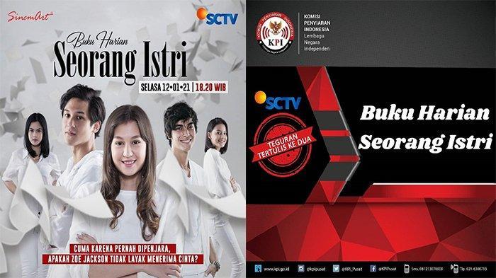KPI Beri Teguran untuk Sinetron Buku Harian Seorang Istri SCTV karena Ada Monolog dan Adegan Ini