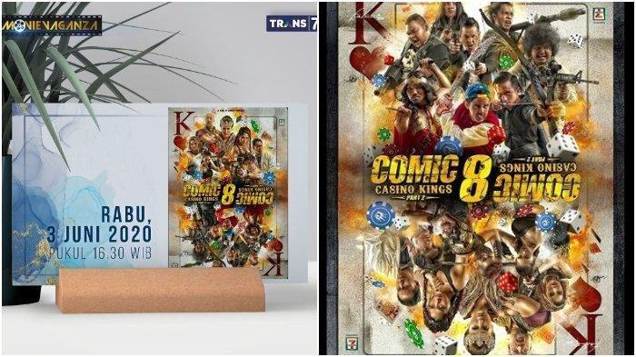 Sinopsis Film Comic 8: Casino Kings Part 2 Tayang Hari Ini Rabu 3 Juni 2020 di Movievaganza Trans7
