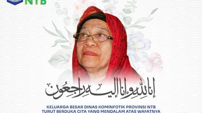 BERITA DUKA, Ibu Gubernur NTB Zulkieflimansyah Tutup Usia