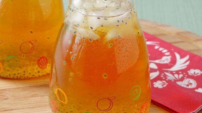 Resep Minuman Segar untuk Buka Puasa, Squash Apel Jeruk hingga Es Buah Kolang-kaling