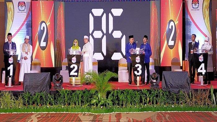 Debat Kedua Calon Wali Kota Mataram, Dewan Pakar Nilai Jawaban Paslon Tidak Capai Klimaks