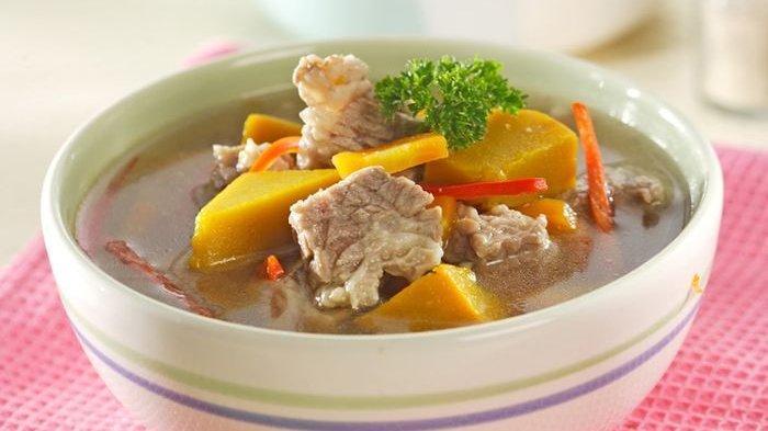 5 Resep dan Cara Membuat Sup yang Enak, Segar dan Mudah Dibuat, Ada Sup Daging Labu Kuning