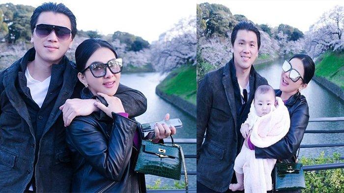 Lama Liburan di Jepang, Syahrini dan Reino Barack Pamer Potret Gendong Bayi dan Tulis Hal Ini