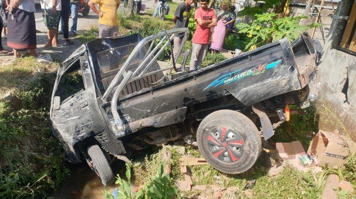 WASPADA Tabrakan Maut di Lombok Tengah, Sopir dan Penumpang Dilarikan ke Puskesmas