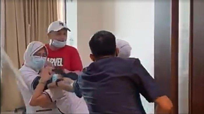 Pengakuan JT Aniaya Perawat RS di Palembang: Emosi, Minta Korban Membukakan Pintu Maaf