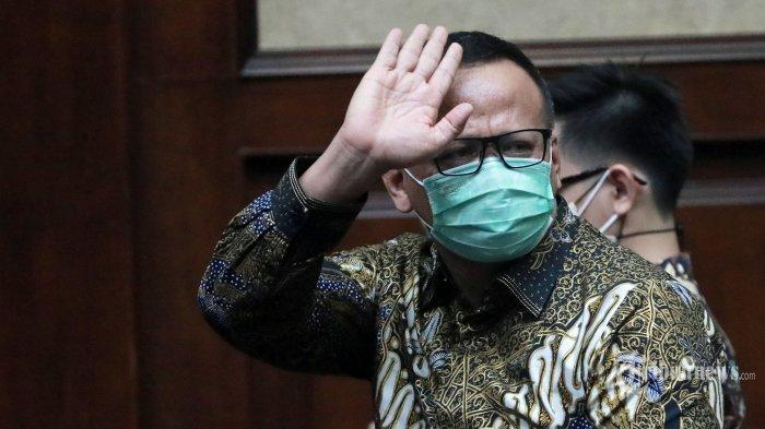 Mantan Menteri Kelautan dan PerikananEdhy PrabowoDivonis 5 Tahun Penjara