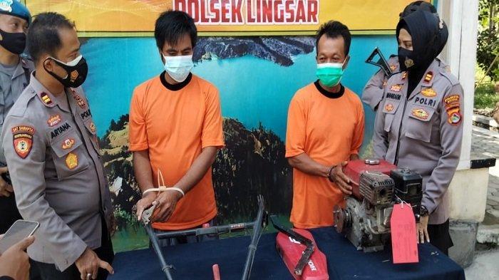 Curi Mesin Traktor 3 Tahun Lalu, Penjaga Kantor Desa di Lombok Barat Ditangkap Polisi