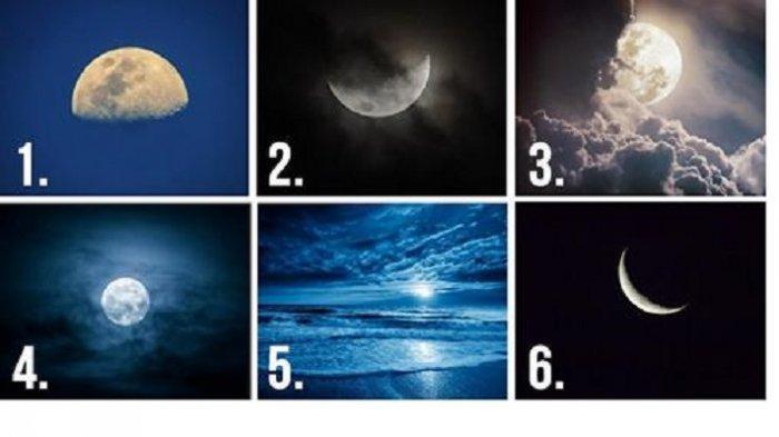 Tes Kepribadian - Gambar Bulan Favoritmu akan Tunjukkan Hal Menarik yang Tersembunyi dari Dirimu