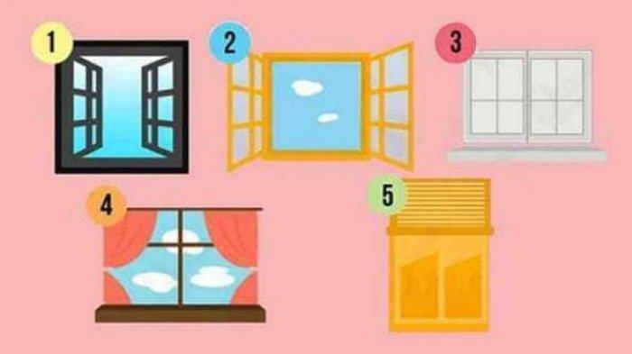 Tes Kepribadian - Mana Jendela yang Kamu Suka? Hasilnya Ungkap Fakta Tersembunyi tentang Sifatmu