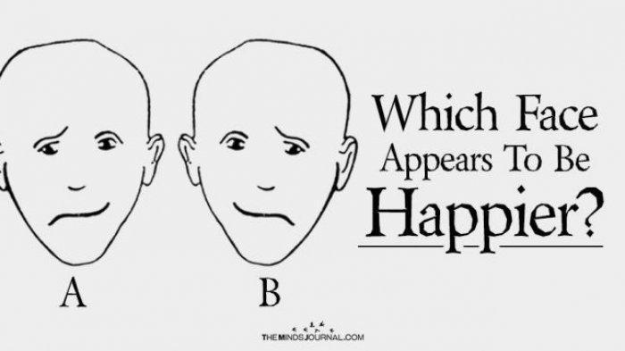 Tes Kepribadian - Mana Wajah yang Nampak Bahagia? Hasilnya Ungkap Lebih Dominan Otak Kanan atau Kiri