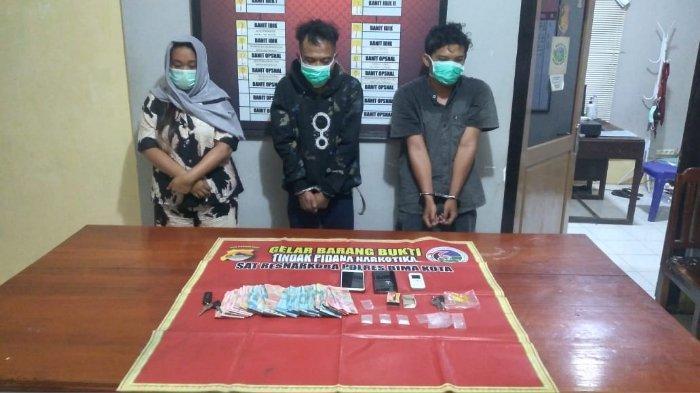 3 Pengedar Sabu Terciduk di Indekos Melayu Kota Bima, Ada 1 Perempuan