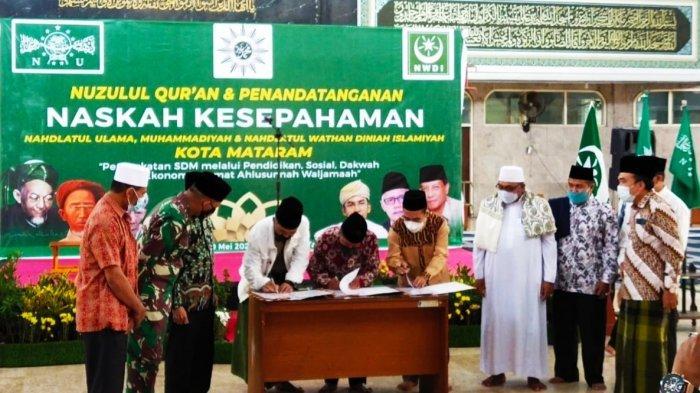 Tiga Ormas Islam di NTB Sepakat Kolaborasi Membangun Umat