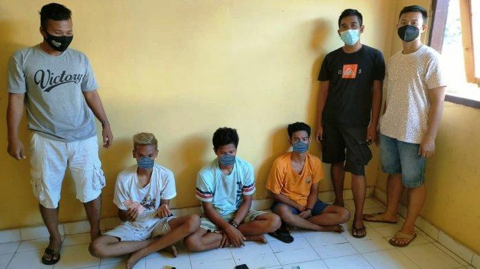 Beli Sabu Seusai Pesta Miras, Tiga Pemuda Sumbawa Tertangkap Anggota Brimob