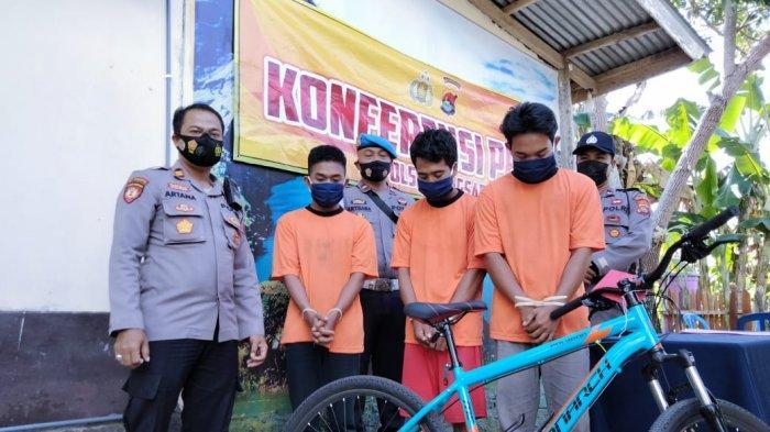 Kecanduan Main Game Slot, Tiga Pemuda Nekat Curi Sepeda Tetangga, Kini Dipenjara