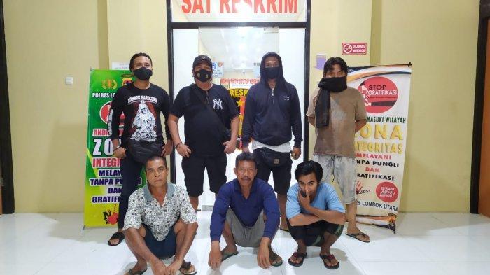 Diduga Bandar Togel Singapura, Tiga Pria Diringkus Polres Lombok Utara