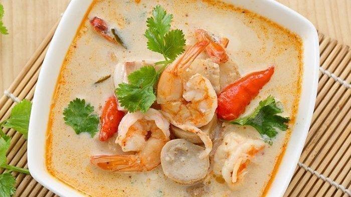 Kumpulan Resep Kreasi Tom Yam Makanan Khas Thailand, Udang dan Jamur Jadi Bahan Wajib